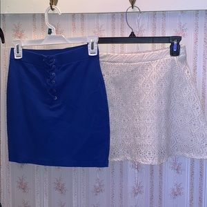 Two skirts